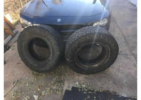 285/75/R16 tires